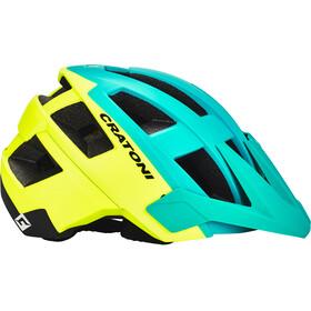 Cratoni Allset Helmet grün/gelb/schwarz matt